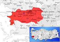 Sultanhisar ilçesinin nerede olduğunu gösteren harita