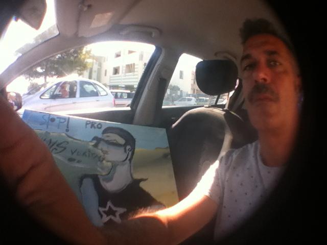 T.A.M. (Tavor Art Mobil).: T.A.M.Cagliari nr.113 #Anton Murgia Anton