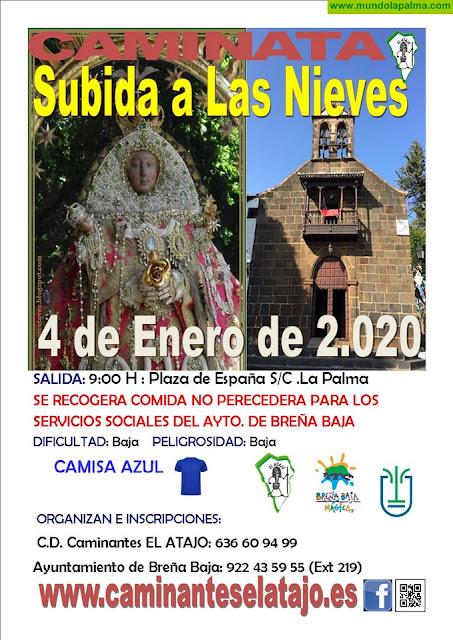 EL ATAJO: Caminata a Las Nieves para comenzar el 2020