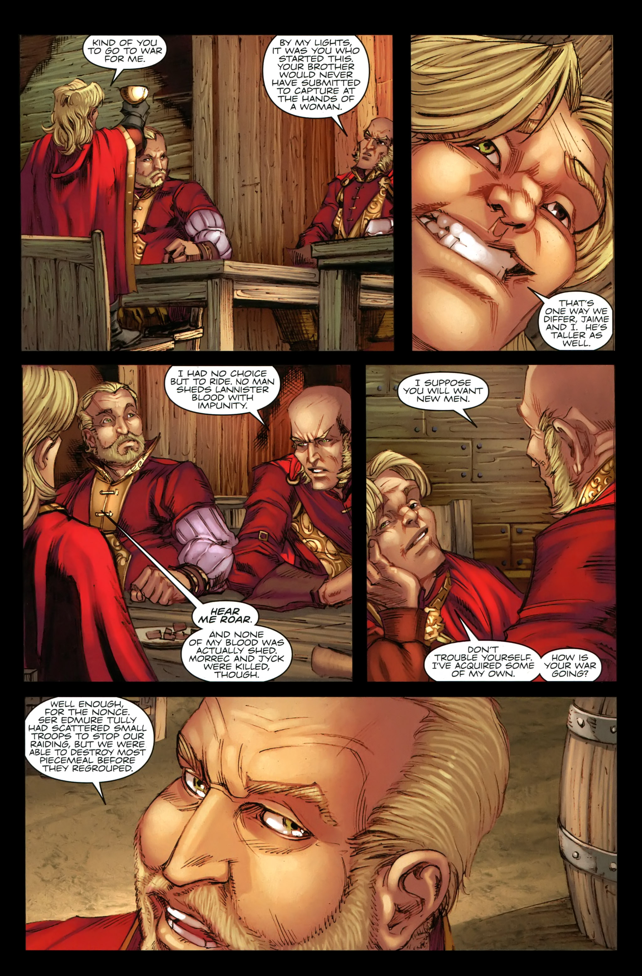 Read online A Game Of Thrones comic -  Issue #19 - 9