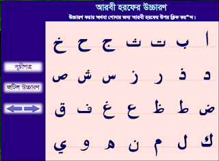 Speak Arabic script sequence