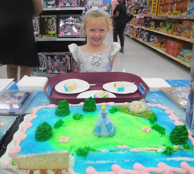 Disney Princess Birthday Cake Walmart Cinderella Royal Ball