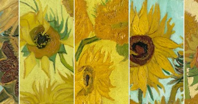 Compilation - Van Gogh's Sunflowers on Facebook Live