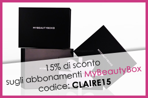 codice sconto MyBeautyBox Claire Louise Oxford