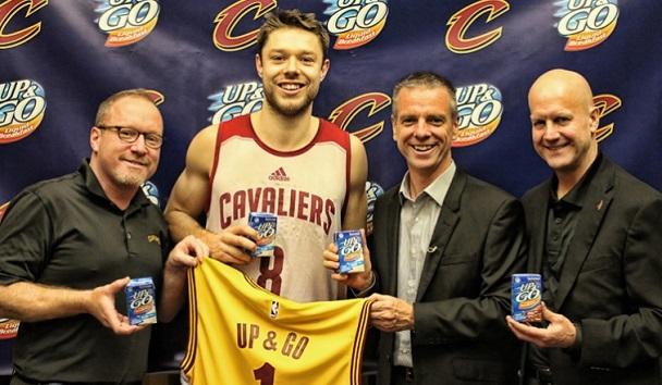 hot sale online 78795 4c67d UP&GO nuovo sponsor dei Cleveland Cavaliers. - Sport ...