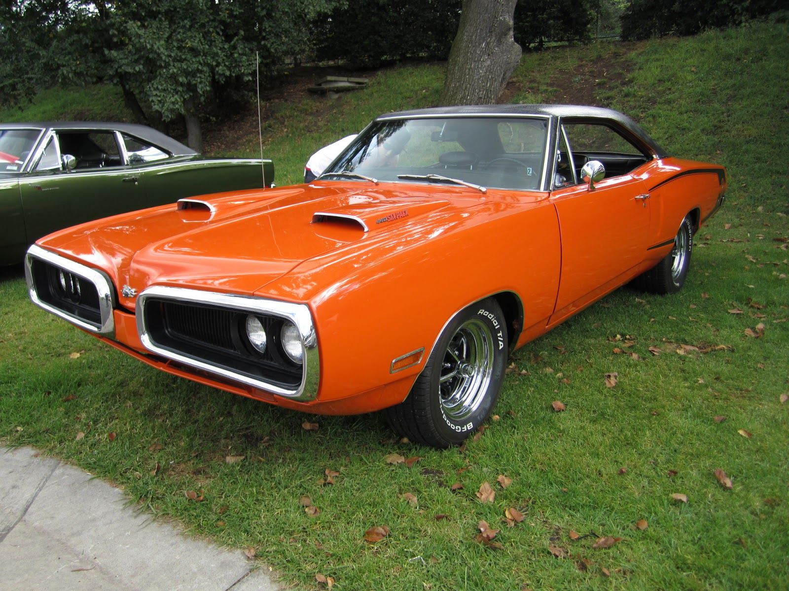 Classic Car Posters Dodge Coronet Super Bee