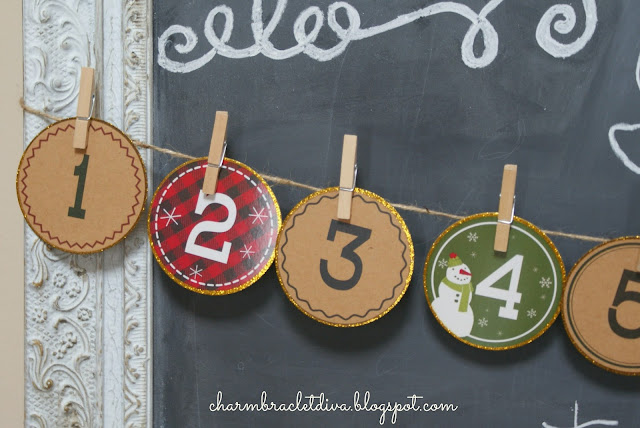 Target Advent Garland Banner Kit