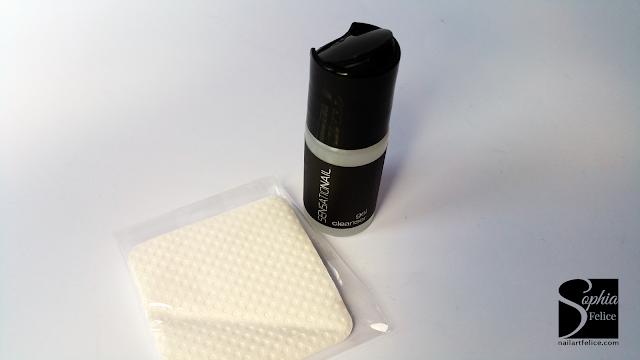 kit semipermanente sensationail - cleanser