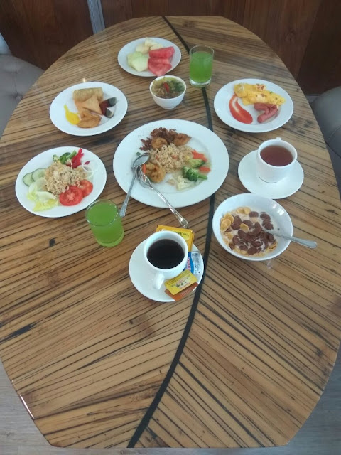 Courtyard Restaurant di Sijori Resort & Spa