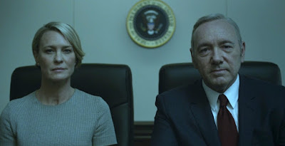 """House Of Cards: """"Nosotros somos el terror"""" o cómo cerrar de forma magistral una temporada. Claire y Frank Underwood. Ver. Oír. Contar."""
