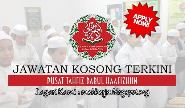 Jawatan Kosong di Pusat Tahfiz Darul Haafizhiin -