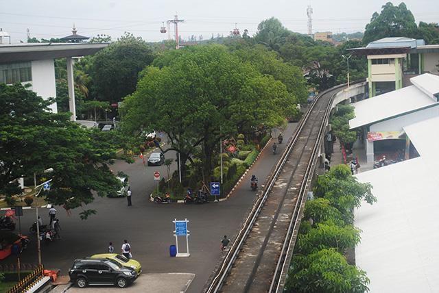 Taman Mini Indonesia Indah Siapa Bilang Parkir Di Sini Gratis