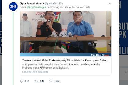 """TERCYDUK BOHONG, Timses Jokowi """"DIHAJAR"""" Jubir Partai Demokrat"""