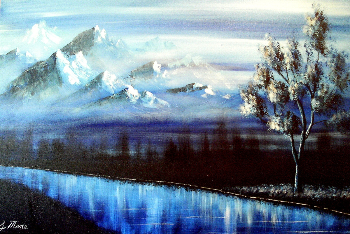 03-Go-Until-You-Reach-the-Mountains-Blue-Paintings-by-Justin-Mane-www-designstack-co