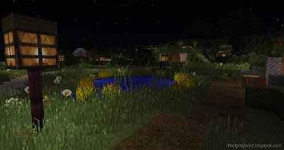 minecraft hobbiton frog pond