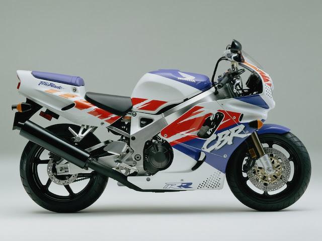 Honda Fireblade 1990s Japanese superbike