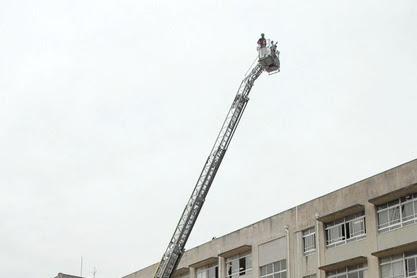 網干消防団余部分団消防出張授業