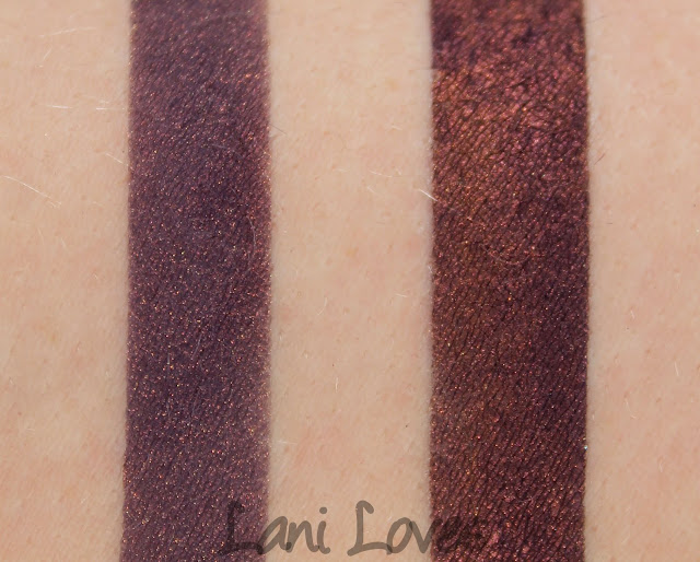 Femme Fatale - Xenomorph eyeshadow swatches & review