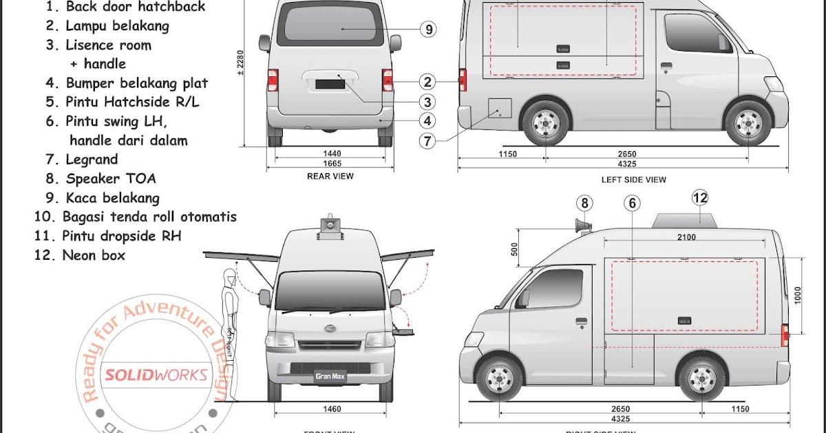 25 Modifikasi Variasi Stiker Mobil Gran Max Minibus Variasi Stiker Mobil