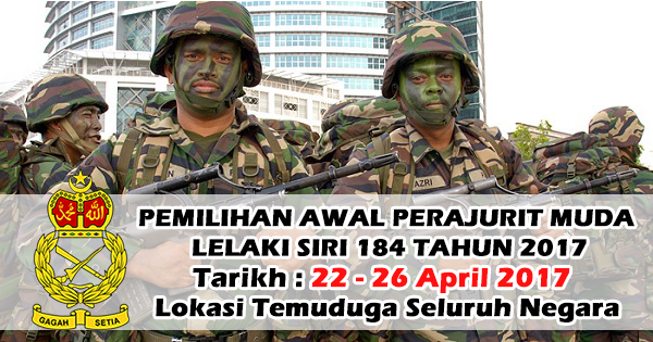 Temuduga Terbuka di Tentera Darat Malaysia (ATM)