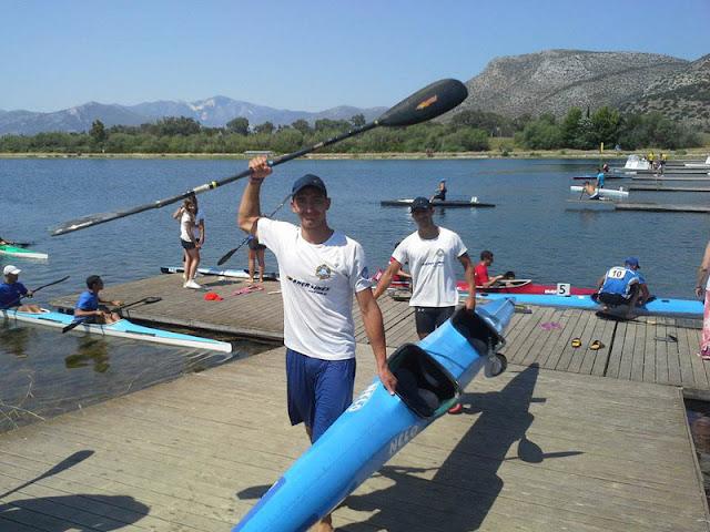 Αγώνες Κανόε Καγιάκ στην Λίμνη Κουρνά