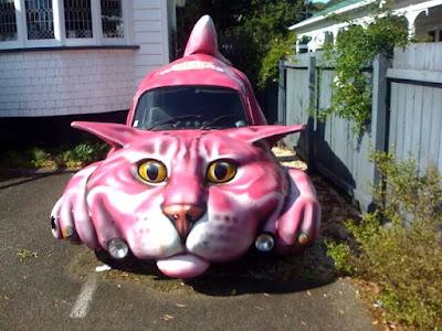سيارات مضحكة وغريبة
