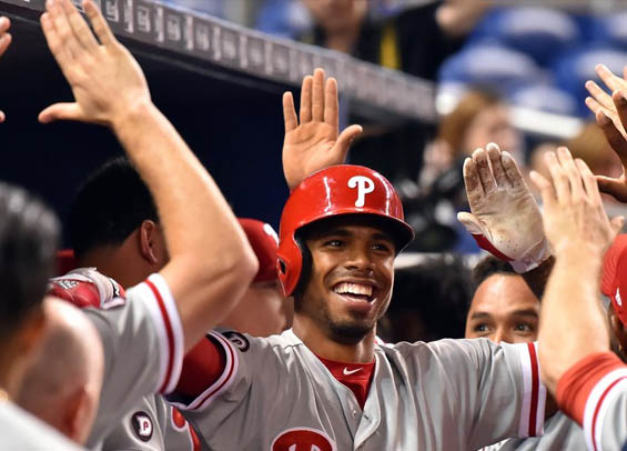 Nick Williams blast highlights Phillies win
