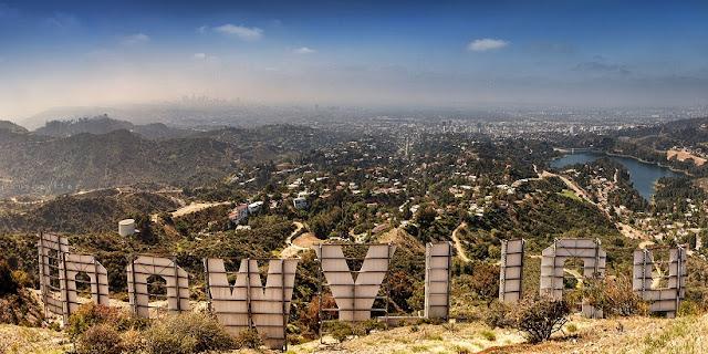 Região de Hollywood em Los Angeles