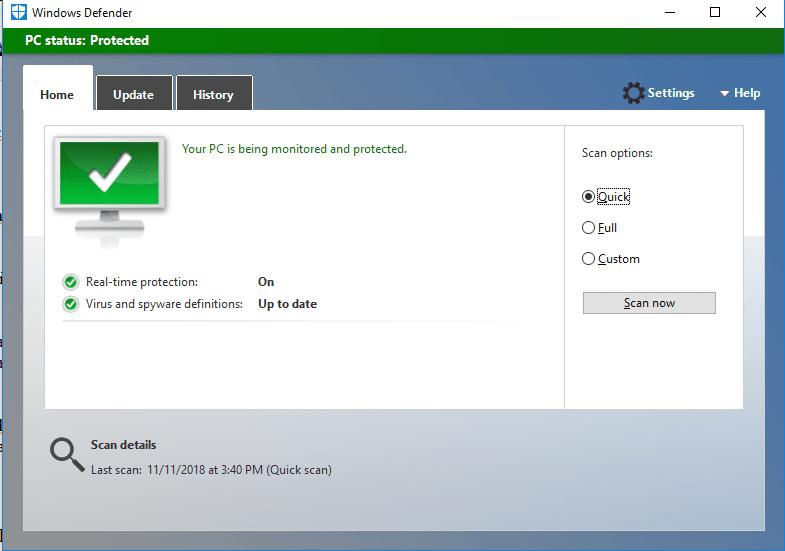 Scan Antivirus