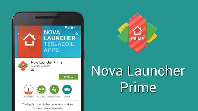 Nova Launcher Prime V6.2.6 - Launcher Mạnh Mẽ Và Linh Hoạt Mod APK