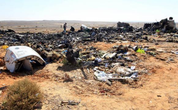 Air crash disaster Egypt