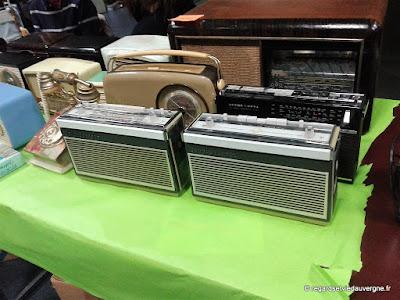 Expo/bourse Radiomania Clermont-Ferrand 2017 les transistors