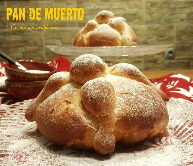 Pan De Muerto. Masa De Brioche Sin Masa Madre.
