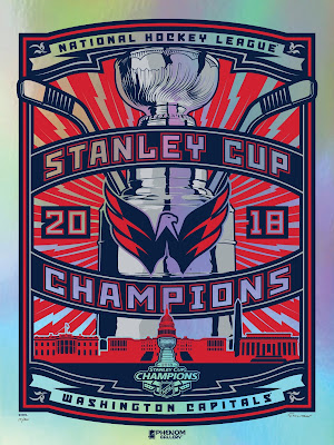 Washington Capitals 2018 Stanley Cup Champions Screen Prints by Stolitron x Phenom Gallery
