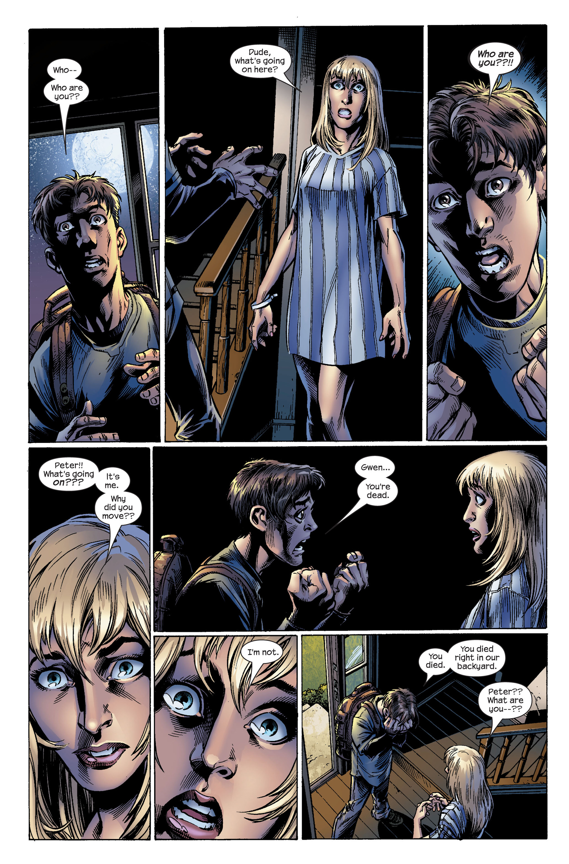 Read online Ultimate Spider-Man (2000) comic -  Issue #99 - 3