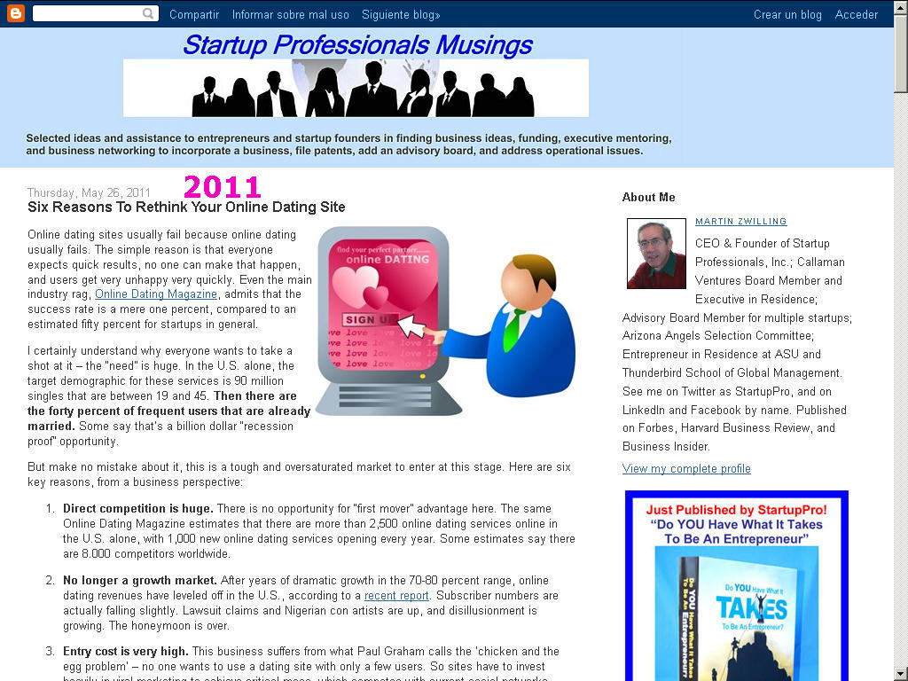 latest dating site 2009