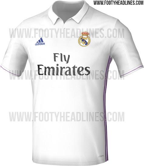 94077eb6c86c7 Primeras imágenes de la camiseta del Real Madrid 2016 17 - La Jugada ...