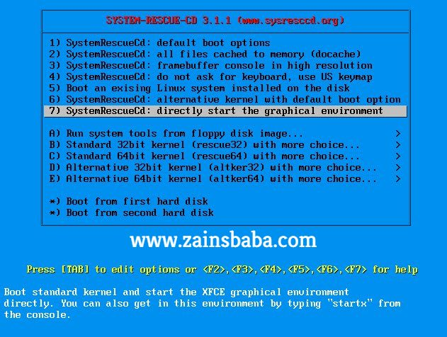 System Rescue CD 5.1.2 Final Latest Free Download