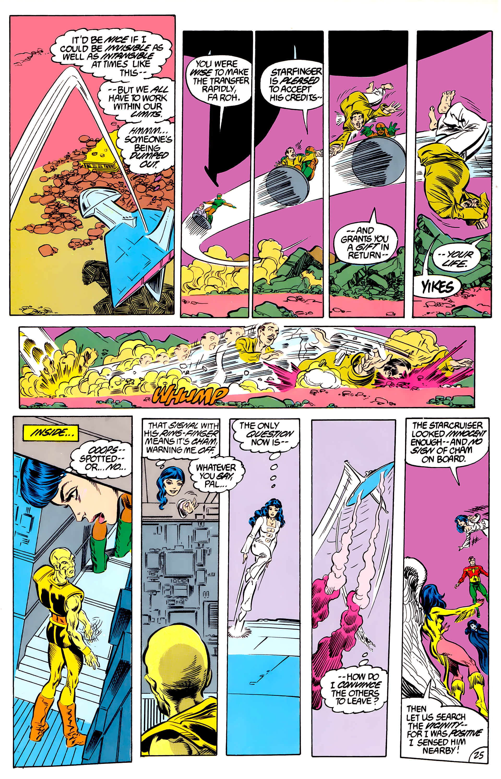 Legion of Super-Heroes (1984) 46 Page 25
