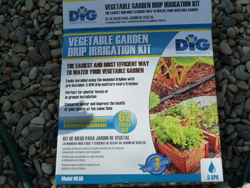 Gidget's Garden: Our DiG irrigation kit