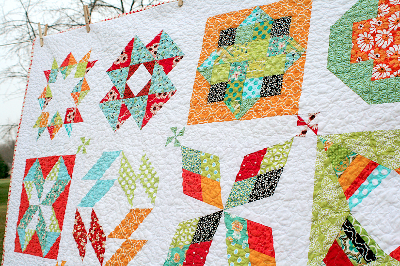 Summer Sampler 2016 – Quilt Along With Us This Summer! – Freshly ...