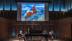 Charles Owen and Katya Apekisheva at the 2017 London Piano Festival (Photo Martin Kendrick, Wright Music Media)