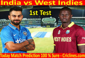 Ind vs WI 1st test 2018