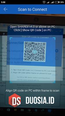 Membaca QR Code menggunakan kamera