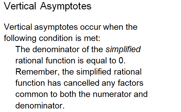 Asymptotes ,rational function,