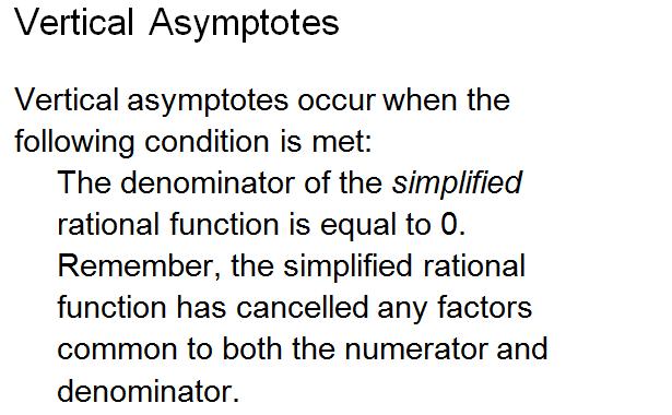 Asymptotes ,rational function,