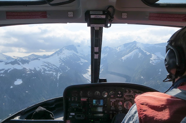 Four Glacier Adventure by Helicopter