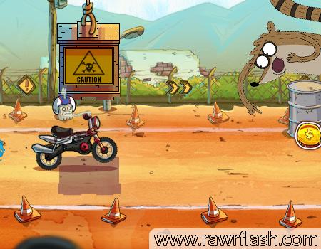 Jogos de Apenas um show: Motocross, Licença Explosiva
