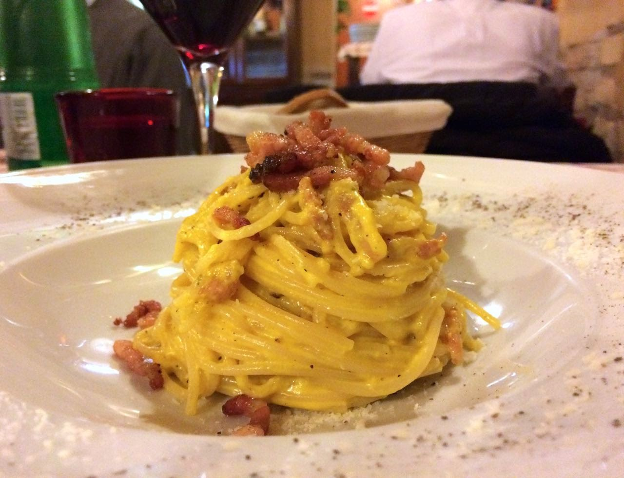Eating in Rome // Trattoria Da Danilo