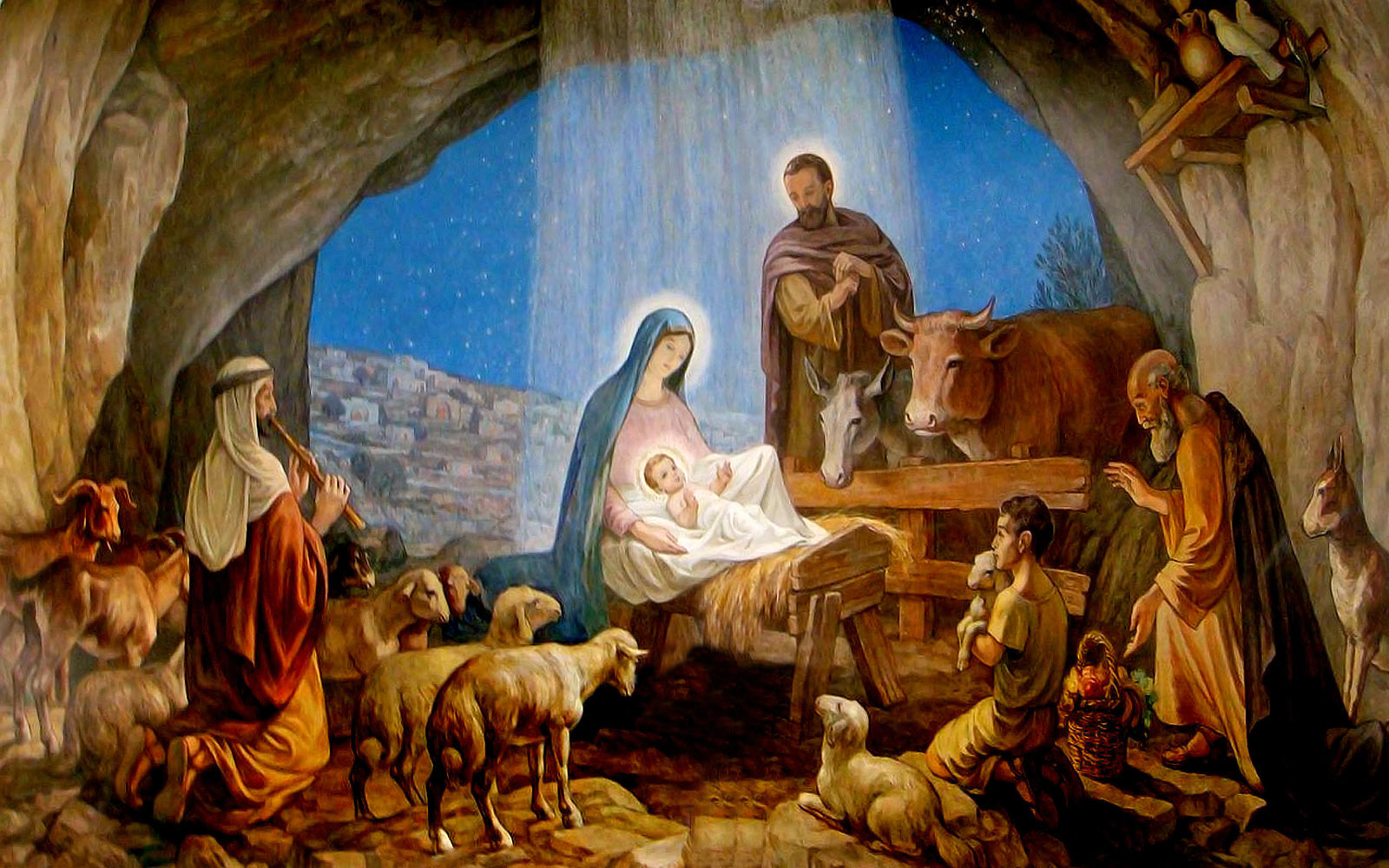 Merry Christmas Images With Jesus